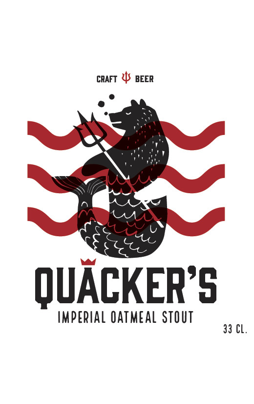 Quacker's Imperial Stout (10.3%)
