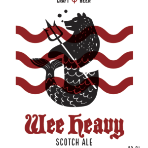 Wee Heavy Scotch Ale (10.3%)